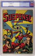 Golden Age (1938-1955):Horror, Suspense Comics #9 (Continental Magazines, 1945) CGC VG 4.0 Creamto off-white pages....
