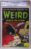 "Golden Age (1938-1955):Horror, Weird Tales of the Future #4 Davis Crippen (""D"" Copy) pedigree(Aragon, 1952) CGC NM- 9.2 Cream to off-white pages...."