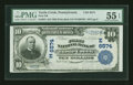 National Bank Notes:Pennsylvania, Turtle Creek, PA - $10 1902 Plain Back Fr. 624 First NB Ch. #(E)6574. ...