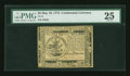 Colonial Notes:Continental Congress Issues, Continental Currency May 10, 1775 $5 PMG Very Fine 25....