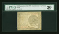 Colonial Notes:Continental Congress Issues, Continental Currency September 26, 1778 $60 PMG Very Fine 30....