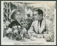 "George Raft and Dolores Costello Barrymore in ""Yours for the Asking"" (Paramount, 1936). Photos (10) (8"" X..."