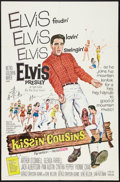 "Movie Posters:Elvis Presley, Kissin' Cousins (MGM, 1964). One Sheet (27"" X 41""). Elvis Presley....."