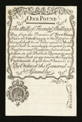 Colonial Notes:New Hampshire, Cohen Reprint New Hampshire April 1, 1737 Redated August 7, 174020s Gem New....