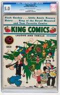Platinum Age (1897-1937):Miscellaneous, King Comics #9 (David McKay Publications, 1936) CGC VG/FN 5.0 Cream to off-white pages....