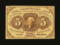 Fractional Currency:First Issue, Fr. 1230 5¢ First Issue Gem New....