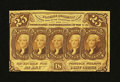 Fractional Currency:First Issue, Fr. 1281 25¢ First Issue New....