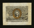 Fractional Currency:Second Issue, Fr. 1283SP 25¢ Wide Margin Face Second Issue New....