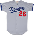 Baseball Collectibles:Uniforms, 1980's Alejandro Pena Game Worn Jersey....
