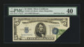Error Notes:Foldovers, Fr. 1651 $5 1934A Silver Certificate. PMG Extremely Fine 40.. ...