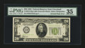 Error Notes:Inverted Reverses, Fr. 2054-D $20 1934 Light Green Seal Federal Reserve Note. PMGChoice Very Fine 35.. ...