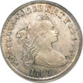 Early Dollars, 1797 $1 10x6 Stars, Large Letters AU53 PCGS....