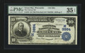 National Bank Notes:Wisconsin, Green Bay, WI - $10 1902 Plain Back Fr. 626 The Citizens NB Ch. # (M)3884. ...