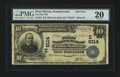 National Bank Notes:Pennsylvania, Point Marion, PA - $10 1902 Date Back Fr. 616 The First NB Ch. #(E)6114. ...