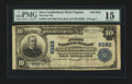 National Bank Notes:West Virginia, New Cumberland, WV - $10 1902 Plain Back Fr. 624 The First NB Ch. # 6582. ...
