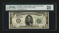 Small Size:Federal Reserve Notes, Fr. 1951-B* $5 1928A Federal Reserve Note. PMG Very Fine 25.. ...