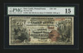 National Bank Notes:Pennsylvania, New Castle, PA - $50 1882 Brown Back Fr. 508 The First NB Ch. #(E)562. ...