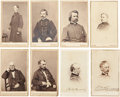 Photography:CDVs, Mathew Brady: Fine Group of Eight Cartes de Visite. ... (Total: 8 Items)