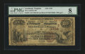 National Bank Notes:Virginia, Leesburg, VA - $10 1882 Brown Back Fr. 484 The Loudoun NB Ch. #(S)1738. ...