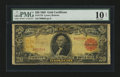 Large Size:Gold Certificates, Fr. 1179 $20 1905 Gold Certificate PMG Very Good 10 Net....