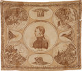 Political:Textile Display (pre-1896), Zachary Taylor: Rare Portrait Bandanna....