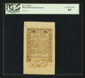 Colonial Notes:Rhode Island, Rhode Island May 1786 20s PCGS Very Choice New 64....