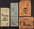Movie Posters:Cult Classic, Exploitation Lot (Various, 1935-1937). Heralds (4) (MultipleSizes). Cult Classic.. ... (Total: 4 Items)