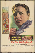 "Movie Posters:Drama, On the Waterfront (Columbia, 1954). One Sheet (27"" X 41""). Drama....."