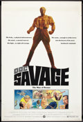 "Movie Posters:Adventure, Doc Savage: The Man of Bronze (Warner Brothers, 1975). Poster (40""X 60""). Adventure.. ..."