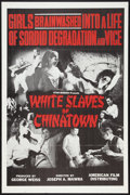 """Movie Posters:Exploitation, White Slaves of Chinatown (American Film Distributing, 1964). OneSheet (27"""" X 41"""") and Pressbook (Multiple Pages, 8.5"""" X 11...(Total: 2 Items)"""