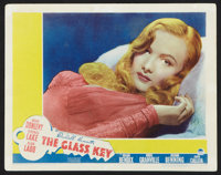 "The Glass Key (Paramount, 1942). Lobby Card (11"" X 14""). Film Noir"