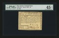 Colonial Notes:New Jersey, New Jersey June 9, 1780 $2 PMG Choice Extremely Fine 45 EPQ....
