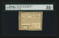 Colonial Notes:New Jersey, New Jersey June 9, 1780 $5 PMG About Uncirculated 55 EPQ....