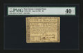 Colonial Notes:New Jersey, New Jersey June 9, 1780 $8 PMG Extremely Fine 40 EPQ....