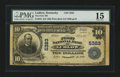 National Bank Notes:Kentucky, Ludlow, KY - $10 1902 Plain Back Fr. 633 The First NB Ch. # 5323....