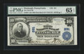 National Bank Notes:Pennsylvania, Pittsburgh, PA - $10 1902 Plain Back Fr. 624 The Third NB Ch. #291. ...