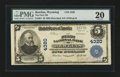 National Bank Notes:Wyoming, Rawlins, WY - $5 1902 Plain Back Fr. 601 The First NB Ch. # 4320....