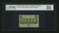 Fractional Currency:First Issue, Fr. 1310 50¢ First Issue PMG About Uncirculated 55....