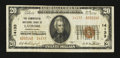 National Bank Notes:Pennsylvania, Latrobe, PA - $20 1929 Ty. 2 The Commercial NB Ch. # 14133. ...