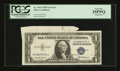 Error Notes:Attached Tabs, Fr. 1615 $1 1935F Silver Certificate. PCGS Very Fine 35PPQ.. ...