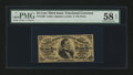 Fractional Currency:Third Issue, Fr. 1298 25¢ Third Issue PMG Choice About Unc 58 EPQ....