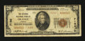 National Bank Notes:Virginia, Orange, VA - $20 1929 Ty. 2 The Citizens NB Ch. # 7150. ...