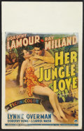 "Movie Posters:Adventure, Her Jungle Love Lot (Paramount, 1938). Window Card (14"" X 22"") andMagazine (Multiple Pages, 10.5"" X 15""). Adventure.. ... (Total: 2Items)"