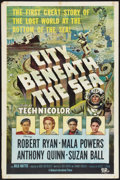 """Movie Posters:Action, City Beneath the Sea (1953) (Universal International, 1953). One Sheet (27"""" X 41""""). Action.. ..."""