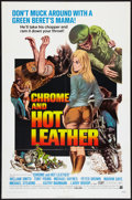 "Movie Posters:Action, Chrome and Hot Leather (American International, 1971). One Sheet(27"" X 41""). Exploitation.. ..."