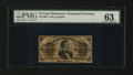 Fractional Currency:Third Issue, Fr. 1299 25¢ Third Issue PMG Choice Uncirculated 63....
