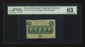 Fractional Currency:First Issue, Fr. 1310 50¢ First Issue PMG Choice Uncirculated 63....