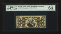 Fractional Currency:Third Issue, Fr. 1339 50¢ Third Issue Spinner Type II PMG Choice Uncirculated 64....