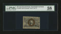 Fractional Currency:Second Issue, Fr. 1286 25¢ Second Issue PMG Choice About Unc 58....