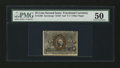 Fractional Currency:Second Issue, Fr. 1289 25¢ Second Issue PMG About Uncirculated 50....